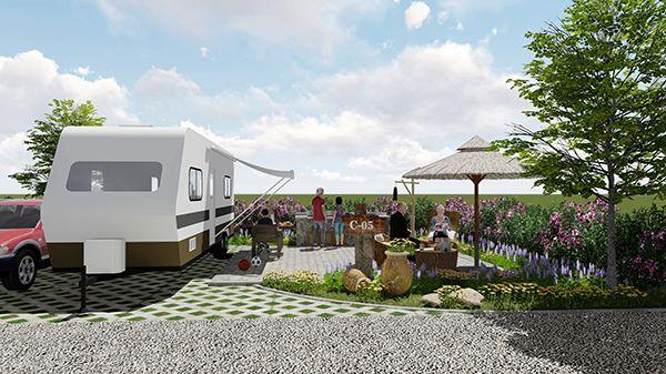 """四川光雾山国际自驾车营地规划设计目的在于让游客走出""""尘市"""",亲近"""
